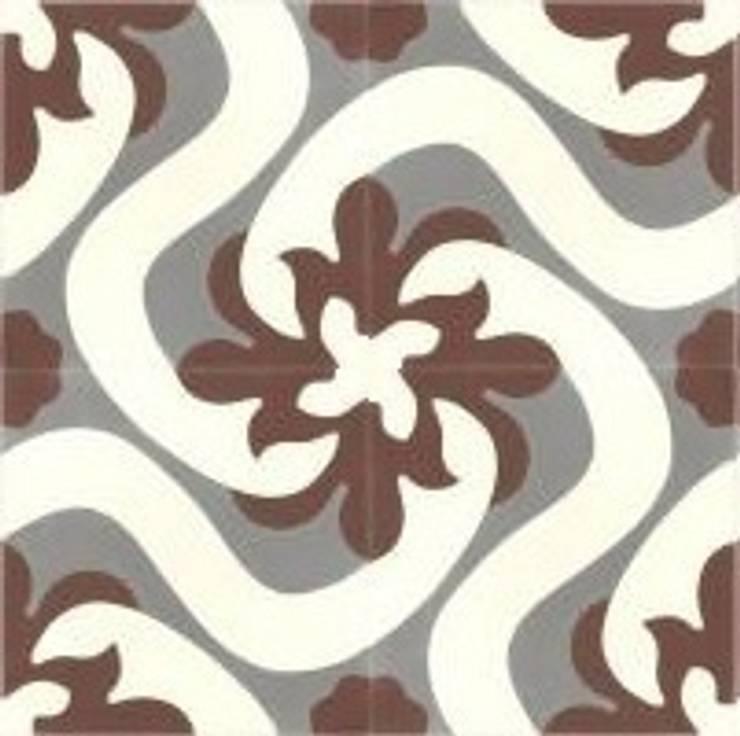 ALFREDO - cementowe płytki podłogowe: styl , w kategorii Ściany i podłogi zaprojektowany przez Kolory Maroka