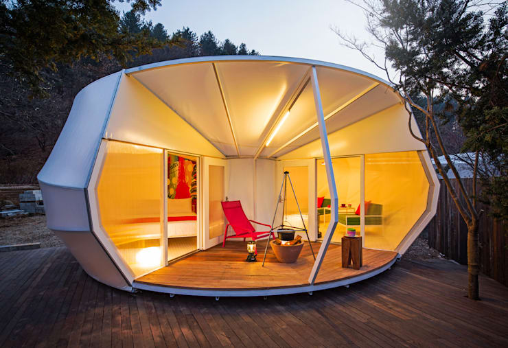 Glamping by ArchiGlam: 건축공방  'ArchiWorkshop'의
