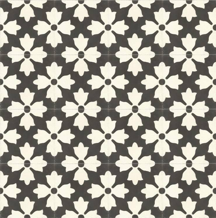 ANTONIO - cementowe płytki podłogowe: styl , w kategorii Ściany i podłogi zaprojektowany przez Kolory Maroka