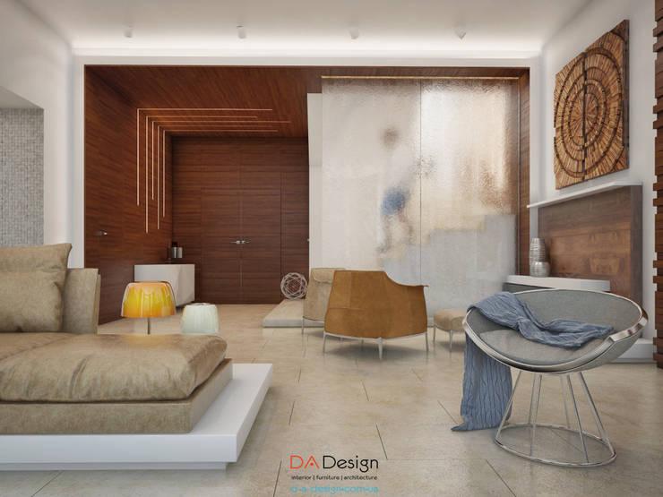 Гостиная в . Автор – DA-Design