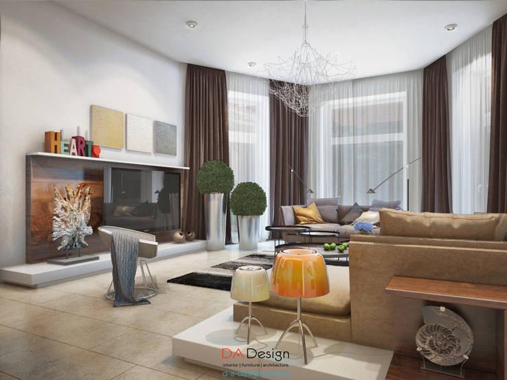 Suburban residential: Гостиная в . Автор – DA-Design