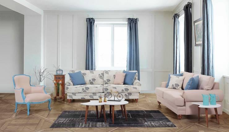 Trabcelona Design – lenova consept:  tarz Oturma Odası