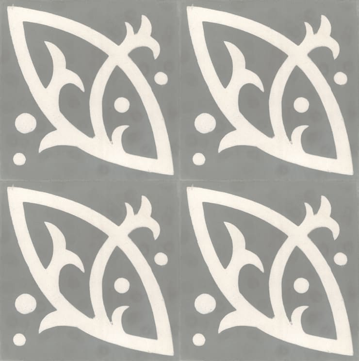 BARACK - cementowe płytki podłogowe: styl , w kategorii Ściany i podłogi zaprojektowany przez Kolory Maroka