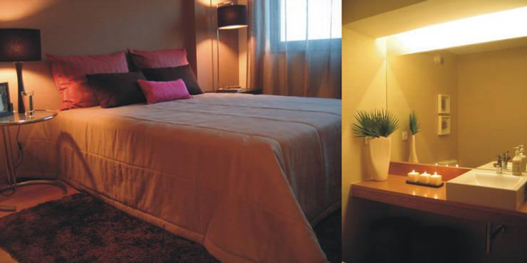 Schlafzimmer von Traço Magenta - Design de Interiores