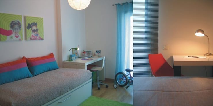 Kinderzimmer von Traço Magenta - Design de Interiores