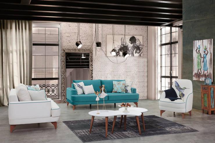 Trabcelona Design – royal salon:  tarz Oturma Odası