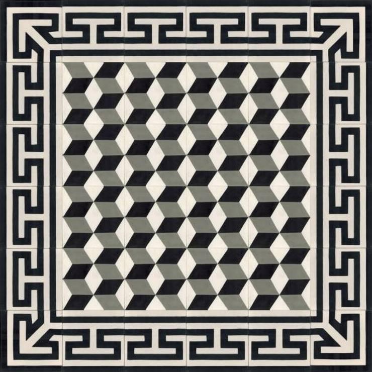 BRENO - cementowe płytki podłogowe: styl , w kategorii Ściany i podłogi zaprojektowany przez Kolory Maroka,