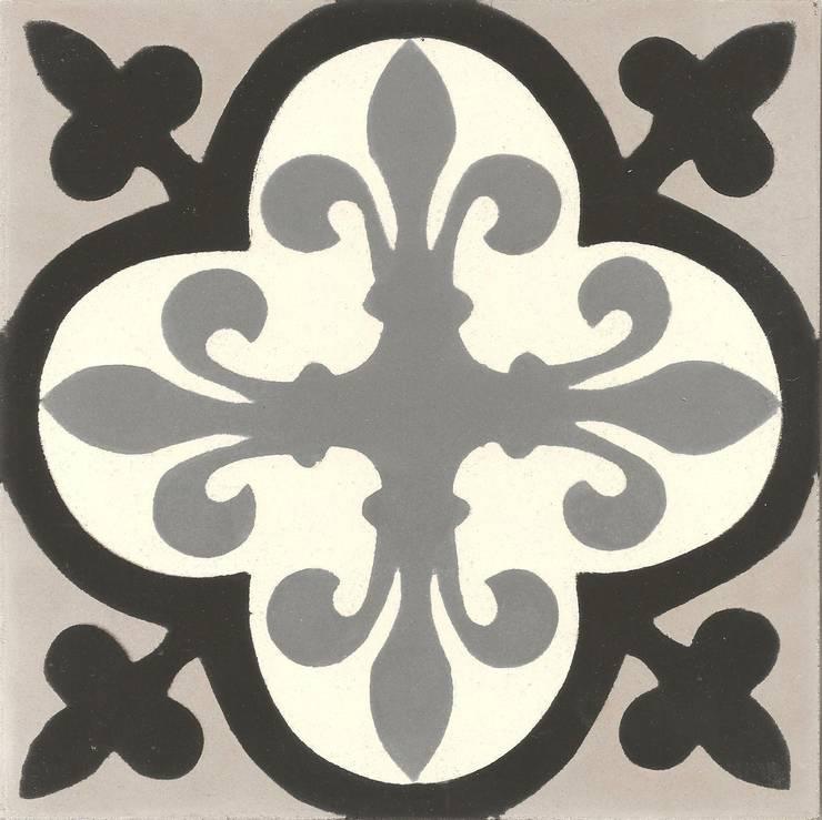 CARLES -  cementowe płytki podłogowe: styl , w kategorii Ściany i podłogi zaprojektowany przez Kolory Maroka