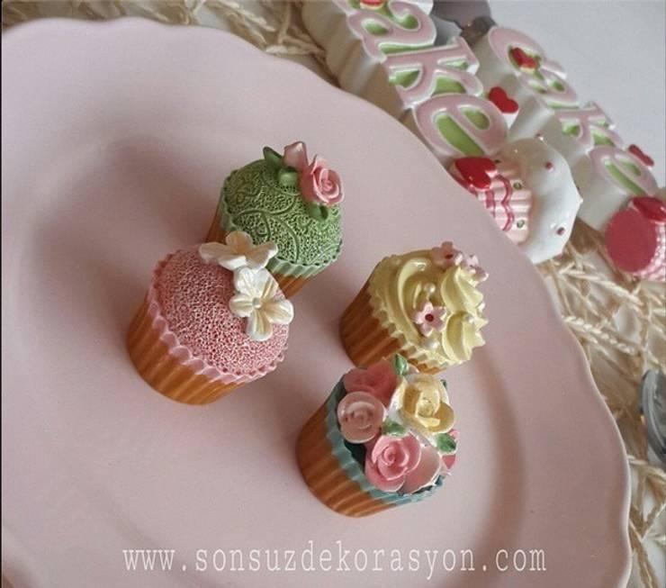 www.sonsuzdekorasyon.com – Cupcake Magnet:  tarz Mutfak