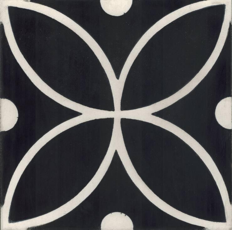 BERIA - cementowe płytki podłogowe: styl , w kategorii Ściany i podłogi zaprojektowany przez Kolory Maroka