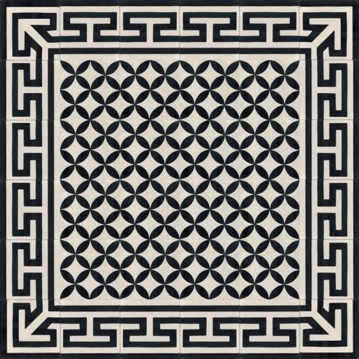 CAVANI - cementowe płytki podłogowe: styl , w kategorii Ściany i podłogi zaprojektowany przez Kolory Maroka