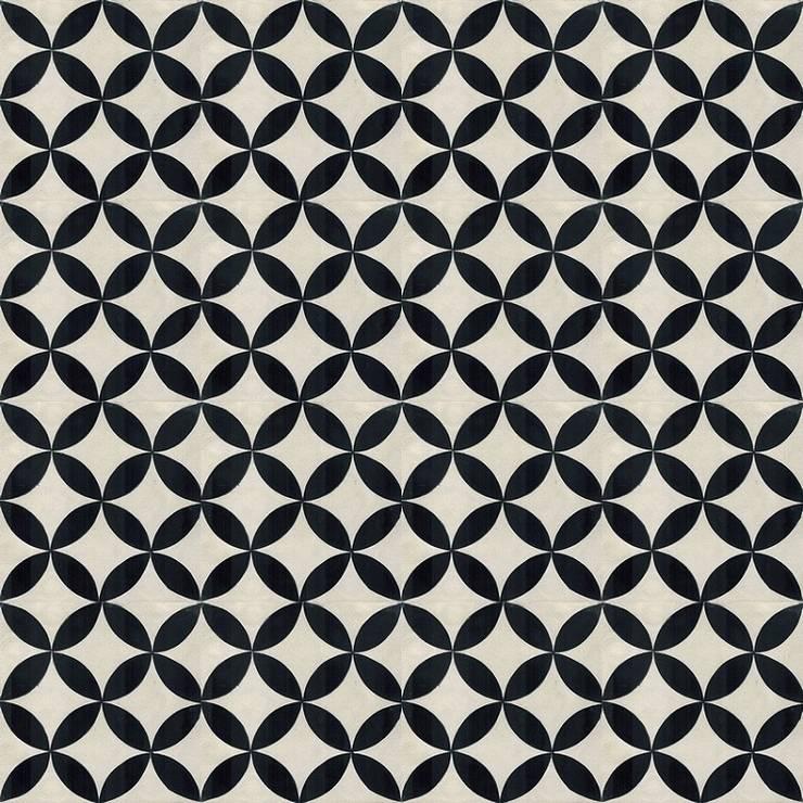 CAVANI - cementowe płytki podłogowe: styl , w kategorii Ściany i podłogi zaprojektowany przez Kolory Maroka,