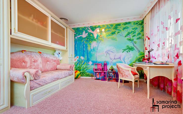 Мечта розовой феи : Детские комнаты в . Автор – Samarina projects