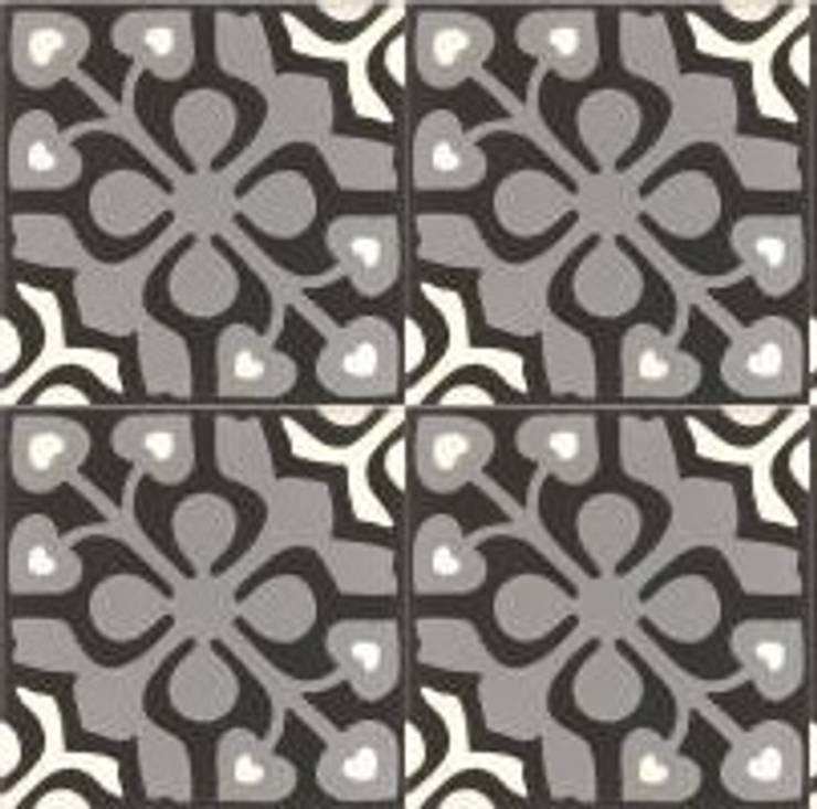 DAVID - cementowe płytki podłogowe: styl , w kategorii Ściany i podłogi zaprojektowany przez Kolory Maroka