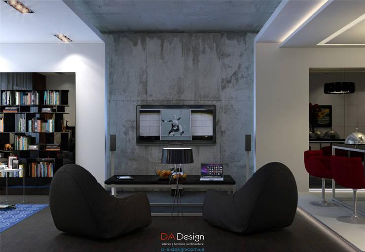 The Banny Apartment: Гостиная в . Автор – DA-Design