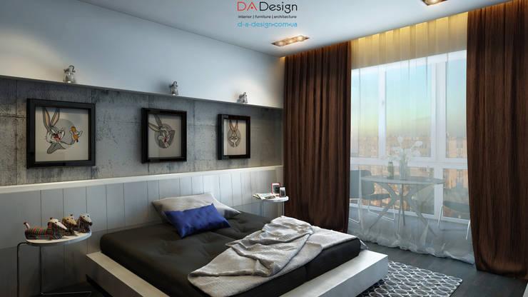 The Banny Apartment: Спальни в . Автор – DA-Design