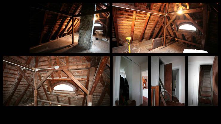 Dachausbau Kleine Villa, Bad Homburg:   von bjoernschmidt architektur