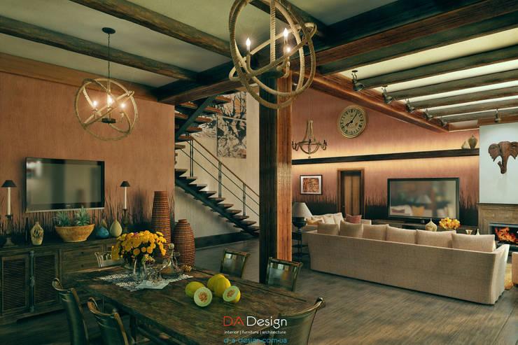 Colonian style: Спальни в . Автор – DA-Design