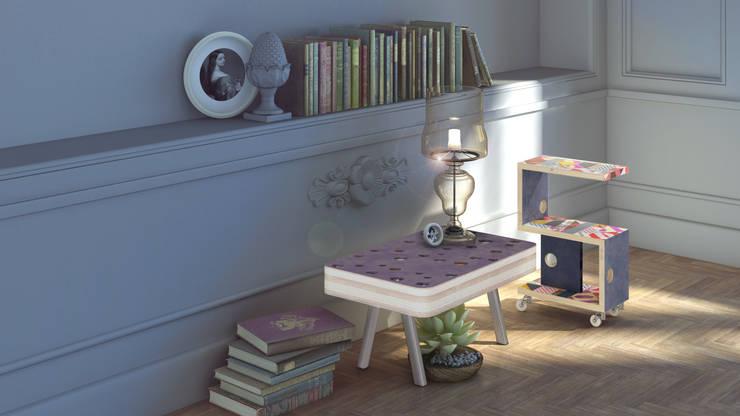 GRUVIERA: Гостиная в . Автор – 3D_DESIGNER_ALLA