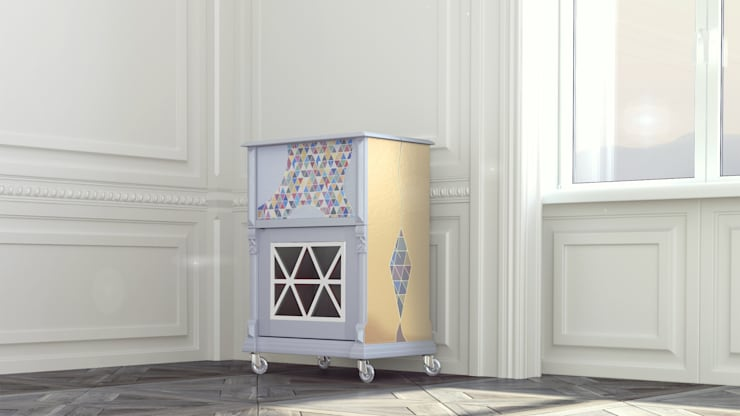 L'ARLECCHINO: Гостиная в . Автор – 3D_DESIGNER_ALLA