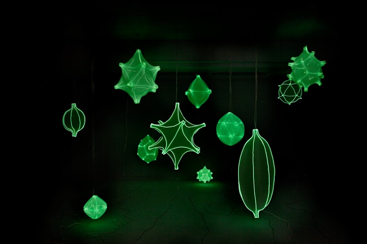 Radiolaria:  Slaapkamer door Bernotat&Co