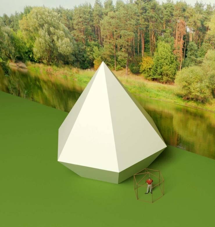 Активная геометрическая форма планетарного назначения -концепт:  в . Автор – Eco wave studio