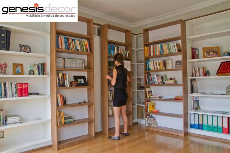 Study/office by GenesisDecor, Modern