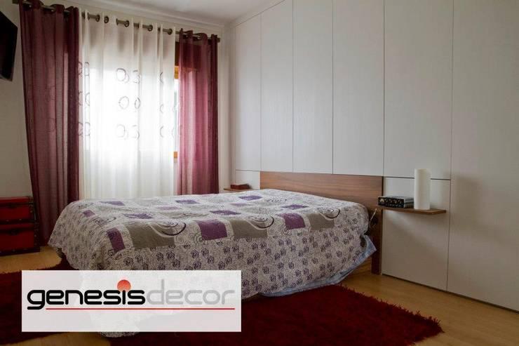 Kamar Tidur oleh GenesisDecor, Modern