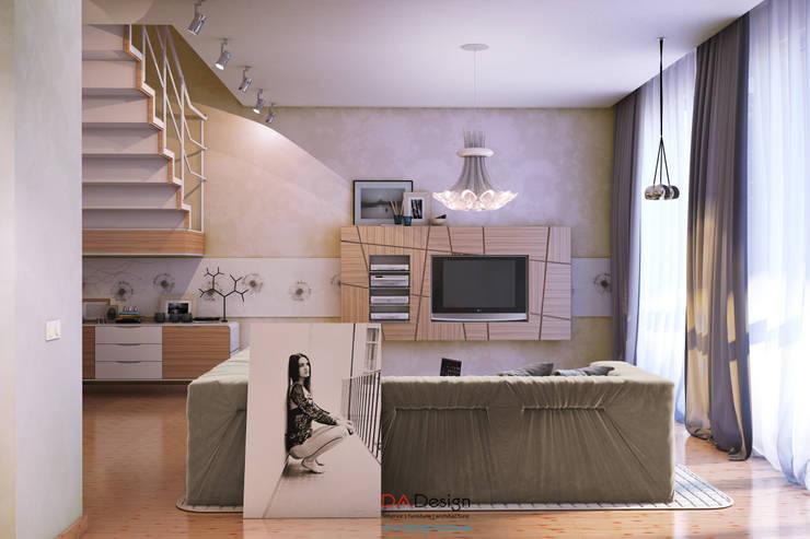 Modern House: Гостиная в . Автор – DA-Design