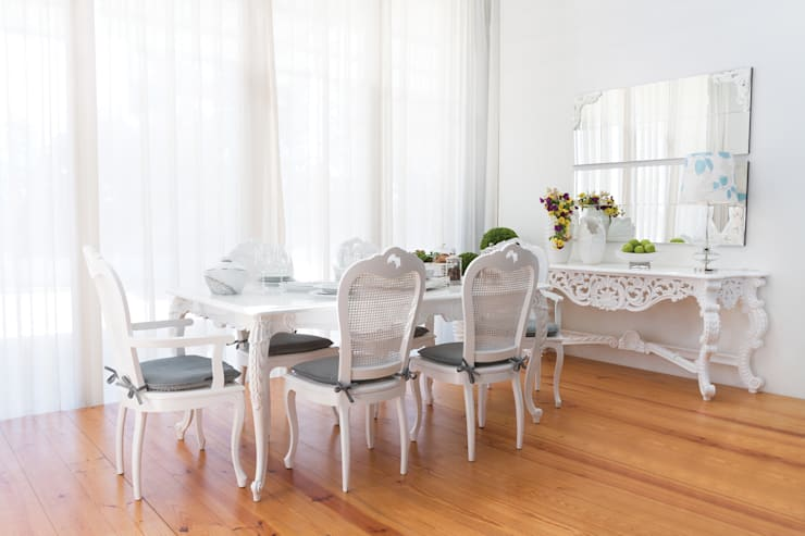 Sala de jantar  por Green Apple Home Style