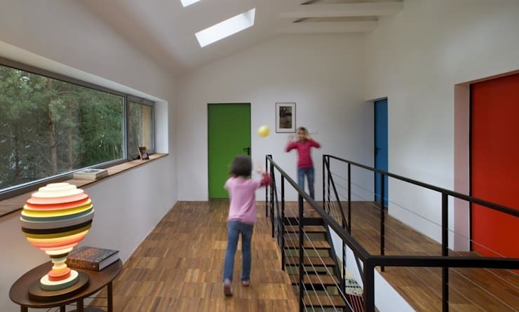 Corridor & hallway by ANONIMOWI ARCHITEKCI, Minimalist