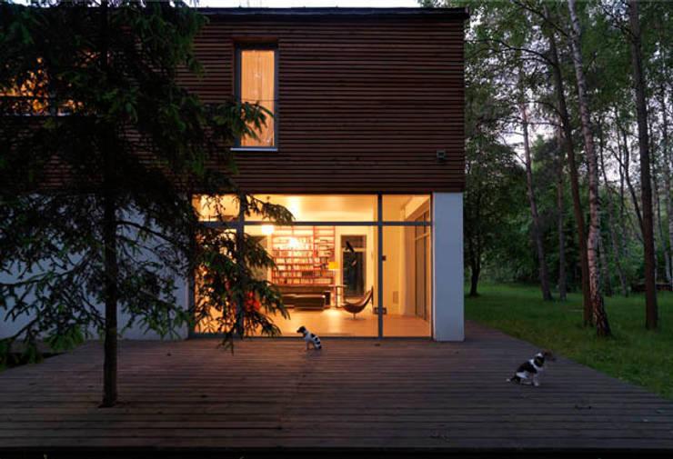 Houses by ANONIMOWI ARCHITEKCI, Scandinavian