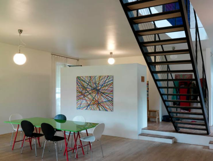 Dom w Czarnowie k/Konstancina: styl , w kategorii Jadalnia zaprojektowany przez ANONIMOWI ARCHITEKCI
