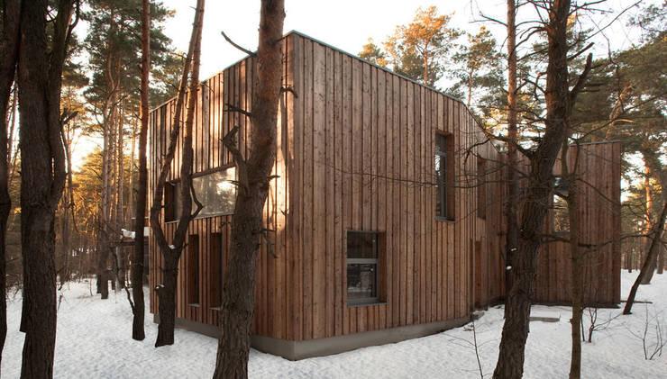Дома в . Автор – ANONIMOWI ARCHITEKCI