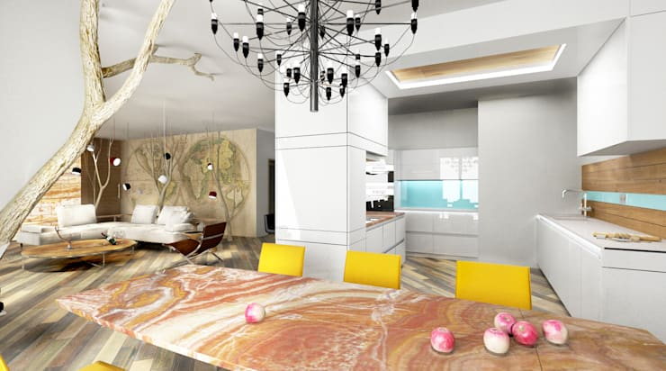 eclectic Kitchen by Architeta