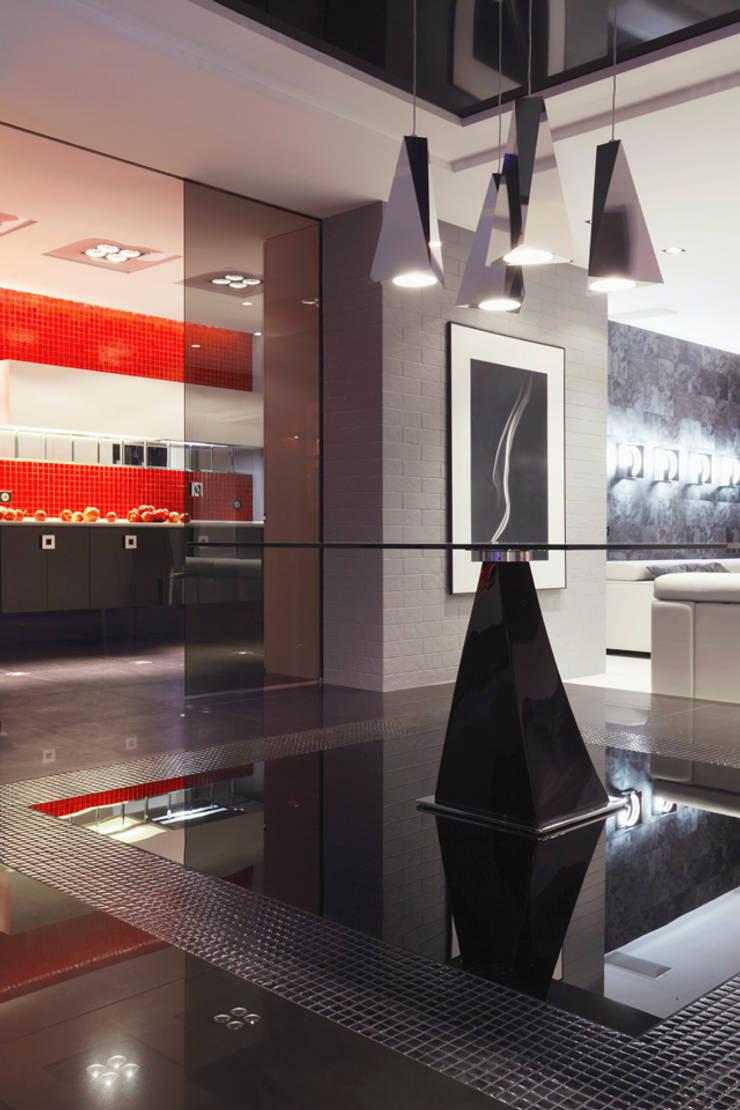 Красное на черном: Столовые комнаты в . Автор – Худякова Людмила