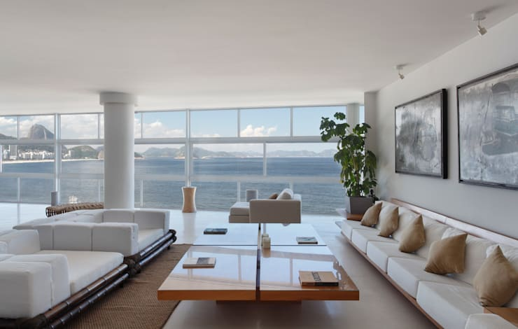 Estar: Salas de estar  por House in Rio,Moderno