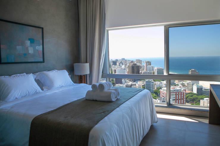 Projekty,  Sypialnia zaprojektowane przez House in Rio
