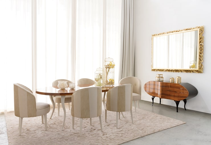 Dining room by Green Apple Home Style