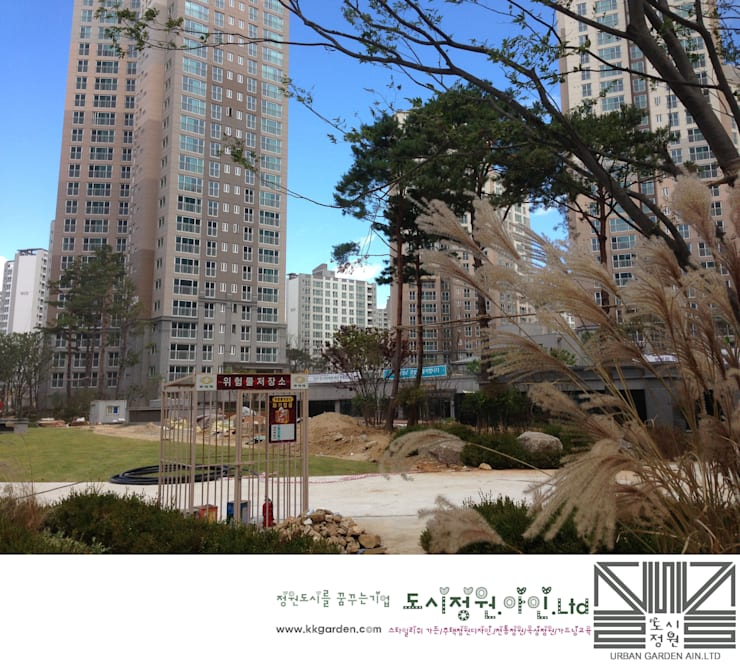 """""""Designer's garden""""-orom: Urban Garden AIN.Ltd의"""