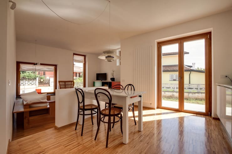 Casa BM: Cucina in stile  di ABC+ME Studio di Architettura