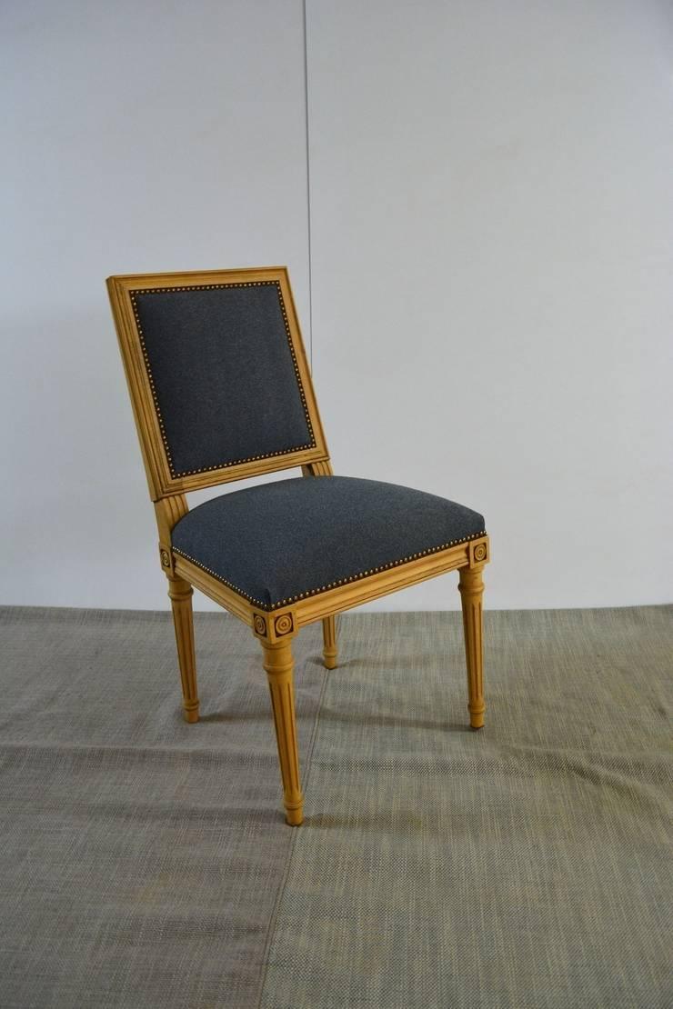Marangoz Çırağı – Louis XVI Yemek Sandalyesi:  tarz Yemek Odası