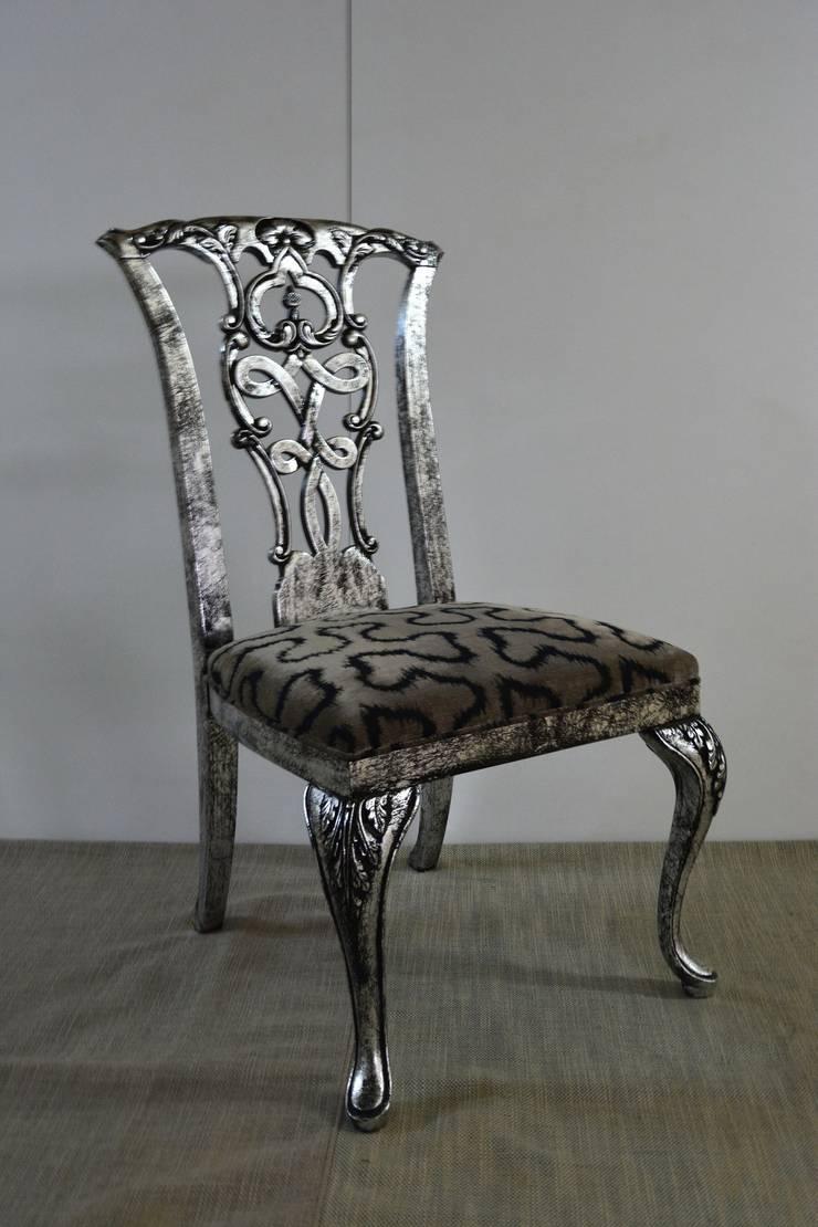 Marangoz Çırağı – Winchester Yemek Sandalyesi:  tarz Yemek Odası