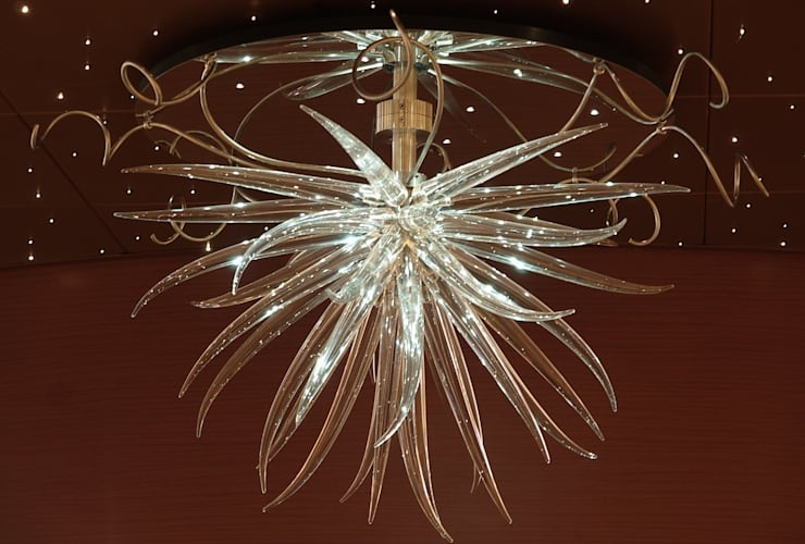 Arcadia Chandeliers:  Event venues by Neil Wilkin Bespoke chandeliers & Glass Sculpture