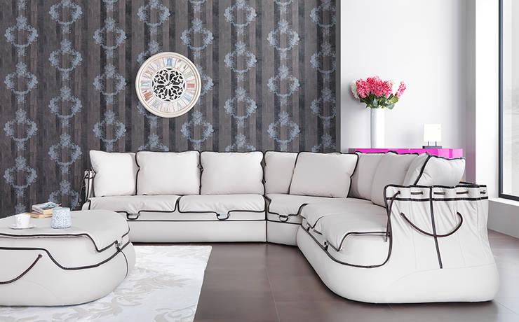Trabcelona Design – medcezir corner:  tarz Oturma Odası