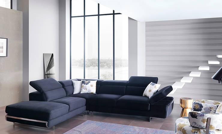 Trabcelona Design – london corner:  tarz Oturma Odası