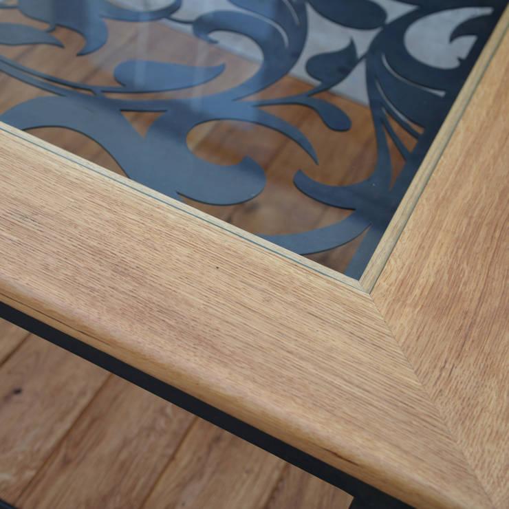 ława VINTAGE: styl , w kategorii Salon zaprojektowany przez John Carpenter INDUSTRIAL