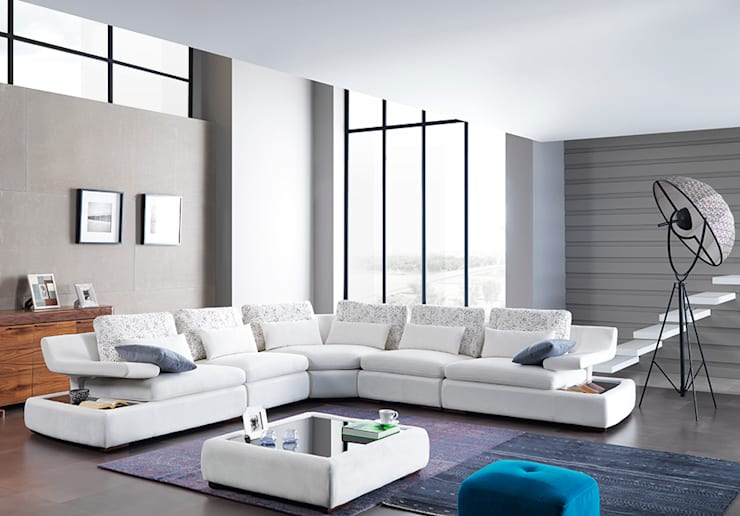 Living room by Trabcelona Design