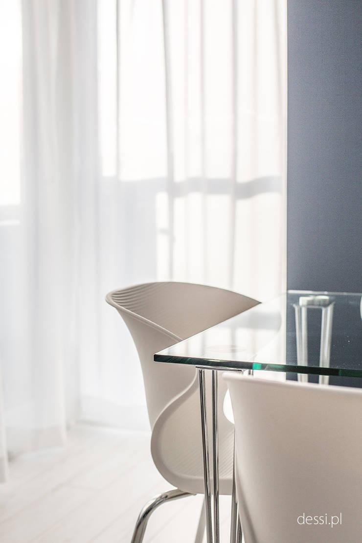 Mieszkanie zaprojektowane pod wynajem: styl , w kategorii Salon zaprojektowany przez Dessi