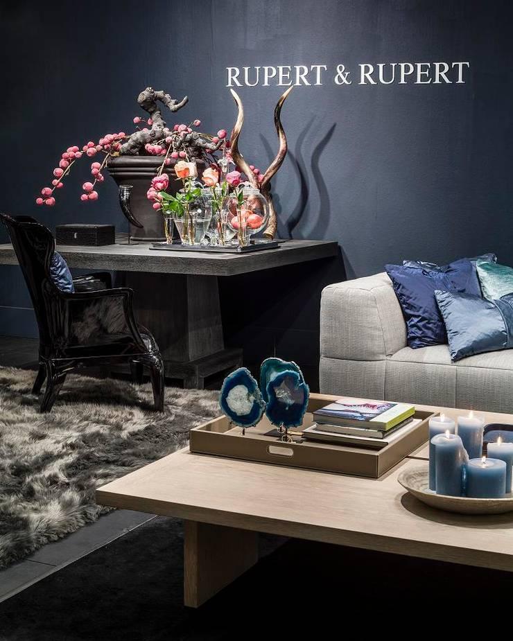sfeer van RUPERT & RUPERT:  Woonkamer door RUPERT & RUPERT